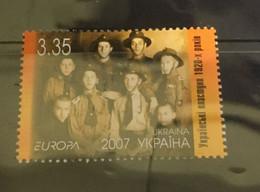 (stamp 27-7-2021) ) EUROPA CEPT - 2007 (mint) Ukraine (Scout) - 2007