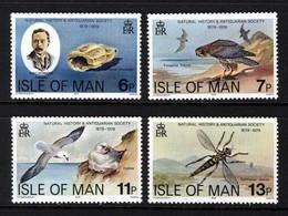 GB ISLE OF MAN IOM - 1979 NATURAL HISTORY SOCIETY ANNIVERSARY SET (4V) FINE MNH ** SG 144-147 - Seagulls