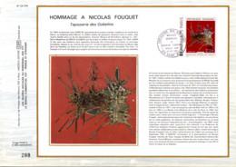 REUNION DOCUMENT FDC 1974 TAPISSERIE DES GOBELINS - Cartas
