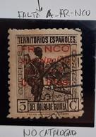 Guinea Locales N8 ( Falta A De Franco No Catalogado - Guinea Española