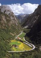 1 AK Norwegen * Das Nærøydalen (deutsch: Nærøytal) - Blick In Das Nærøytal * - Norwegen