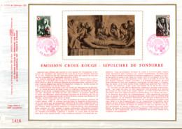 REUNION DOCUMENT FDC 1973 CROIX ROUGE - Cartas