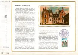 REUNION DOCUMENT FDC 1973 LE CLOS LUCé - Cartas