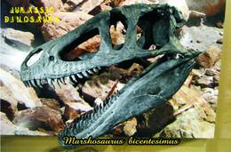 Carte Postale, Animaux Prehistoriques, Jurassic Dinosaurs, Marshosaurus Bicentesimus - Andere