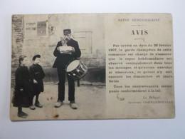 AVIS(a La Population) Repos Hebdomadaire .... Carte A Identifier - A Identificar