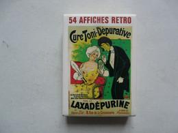 54 CARTES A JOUER RETRO - AFFICHES RETRO - Other