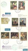 FDC 1977 HUNGRIA VELAZQUEZ-GOYA-EL GRECO - Sonstige