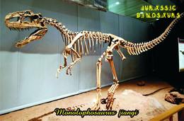 Carte Postale, Animaux Prehistoriques, Jurassic Dinosaurs, Monolophosaurus Jiangi - Andere