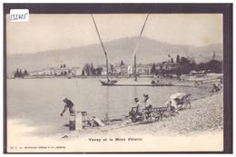 DISTRICT DE VEVEY - VEVEY - BARQUE DU LAC LEMAN - TB - VD Vaud