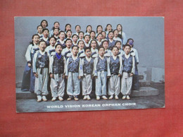 World Vision Korean Orphan Choir     Ref 5062 - Corea Del Sud