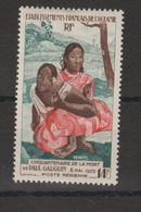 Océanie 1953 Gauguin PA  30, 1 Val ** MNH Mais Avec Point Rouille - Aéreo