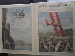 # DOMENICA DEL CORRIERE N 25 / 1934 ACROBAZIE AEREE A PARIGI / MUSSOLINI A VENEZIA PIAZZA SAN MARCO - Prime Edizioni