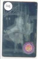 MARILYN MONROE 102) 3 Dimensional Carte -  Telecarte USA CINEMA FILM MOVIE KINO * 3D - Cinema