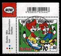 Bund 2017,Michel# 3331 O Tag Der Briefmarke, Eckrand - Gebruikt