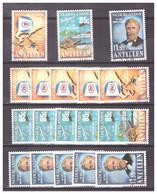 Antillen / Antilles 1987 X6 Maduro Holding Map Airplane Used - Curacao, Netherlands Antilles, Aruba