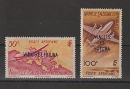 Wallis Et Futuna 1949 Avions PA 12-13, 2 Val ** MNH - Nuovi