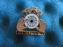 Pin's Pin Arthus Bertrand Parapsy 91 - Arthus Bertrand