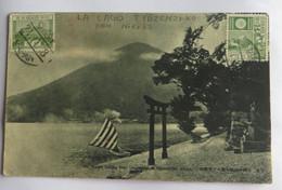 AK Mt. Nantai U. See Tyüzenzi-ko, Nikko, Japan, Gelaufen 1928 - Non Classificati
