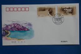X17    CHINA   BELLE LETTRE  2002  PREMIER JOUR    +  + AFFRANCHISSEMENT  PLAISANT - Covers & Documents