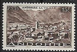 ANDORRE N°132 N* - Ongebruikt
