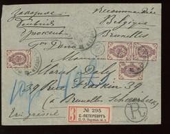 Jolie Lettre Recommandée Vers BELGIQUE. 19 Avril 1900 - Non Classificati