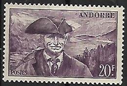 ANDORRE N°135 N* - Ongebruikt