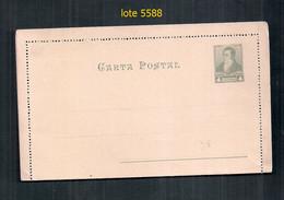 ARGENTINA1892-3 GJ CAP 21  4C  Pizarra Verdoso Sin Usar  Vc 50 U$s - Postal Stationery