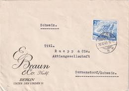ALLEMAGNE  1940 LETTRE  CENSUREE DE BERLIN - Brieven En Documenten