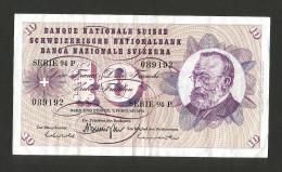 SVIZZERA / SUISSE / SWITZERLAND - NATIONAL BANK - 10 FRANCS / FRANKEN (1974) G. KELLER - Switzerland