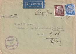 ALLEMAGNE 1943 LETTRE CENSUREE DE THORN STALAG XXA - Brieven En Documenten