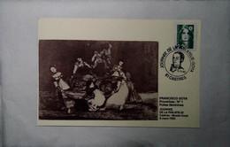 H 4 Lettre / Document/ Repiquage/carte Maximum   / Journée Phila Goya - 1990-99