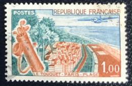 France - République Française - W1/14 - (°)used - 1962 - Michel 1408 - Le Touquet Paris-Place - Usados