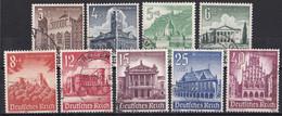 Deutsches Reich 1940 - Mi.Nr. 751 - 759 - Gestempelt Used - Gebraucht