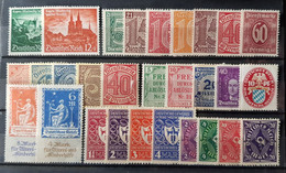 Allemagne - Germany - Timbre(s) Mix Mh* - 1 Scan(s) - TB - 1039 - Zonder Classificatie