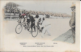 Math Jacquelin  Mayor Taylor Parc Des Princes 1901 Carte Neuve En Bon état - Cyclisme