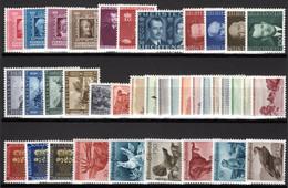 LIECHTENSTEIN, 1942-1950 Lot Frei-und Sondermarken, Ungebraucht * - Collections