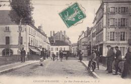 Saône-et-Loire - Chalon-sur-Saône - La Rue Porte-de-Lyon - Chalon Sur Saone