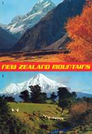 1 AK Neuseeland * Neuseelands Berge - Oben Mount Cook Südinsel - Mount Egmont Nordinsel * - Neuseeland