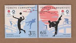 AC - TURKEY STAMP TOKYO 2020 SUMMER OLYMPIC GAMES MNH 23 JULY 2021 - Nuevos