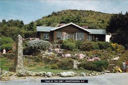 """1 AK Neuseeland * """"Sign Of The KIWI"""" - Ein Kleines Cafe Zwischen Christchurch Und Governors Bay - Als Mauthaus Geplant * - Neuseeland"""
