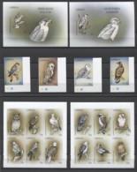 Liberia Birds Oiseaux Vögel Uccelli OWLS Eagle 1999 Mi#2261-76B Bl#199-200B MNH (CORNER) - Other