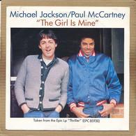 "7"" Single, Michael Jackson & Paul McCartney - The Girl Is Mine - Disco, Pop"