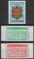 Année 1987 - N° 355 à 357 - Visite Du Co-Prince Français, Le 26-09-1986 - Écu Primitif Des Vallées - 3 Valeurs - Neufs - Ongebruikt