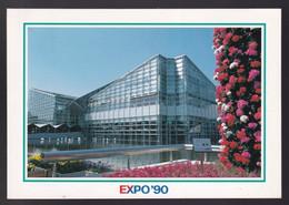 Osaka. Expo'90. *Sakuya Konohana* Circulada Matasellos *Floral Expo* 13-VI-1970. - Osaka