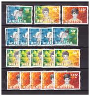 Antillen / Antilles 1987 X6 Childwelfare Used - Curacao, Netherlands Antilles, Aruba