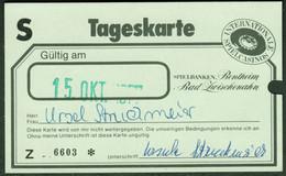 """Bentheim Bad Zwischenahn 1977 Deko Eintrittskarte """" Casino Spielbank """" Ticket - Tickets - Vouchers"""