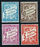 Andorra Francesa Nº Tasa-17/20* Cat.45€ - Unused Stamps