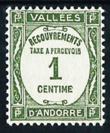 Andorra Francesa Nº Tasa-16** Cat.8€ - Unused Stamps
