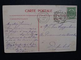 """Belgique  Oblitération  Diepenbeek  Sur CP Vue Liege """" Pont De La Boverie """" - AK [1871-09]"""