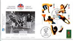 GB FDC 1996 JEUX OLYMPIQUES ATLANTA - Verano 1996: Atlanta